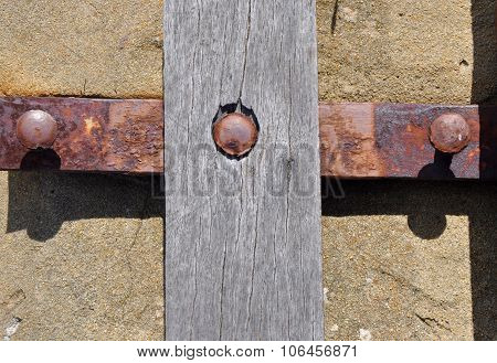 Rusted Metal and Distressed Wood