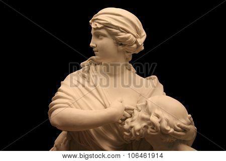 Roman Charity Sculpture