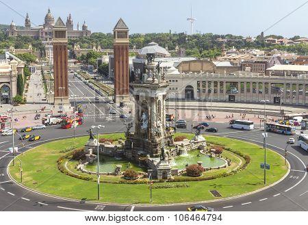 Placa De Espana - Top View