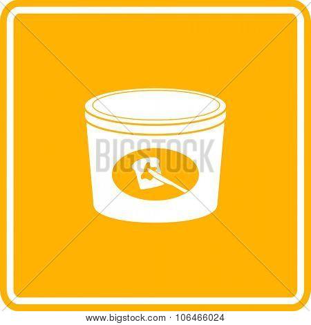 butter bottle sign