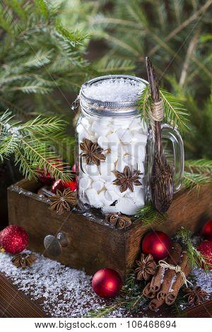 Marshmallows In A Jar