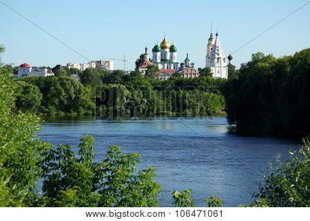 View Of Historical Center In Kolomna From  The River