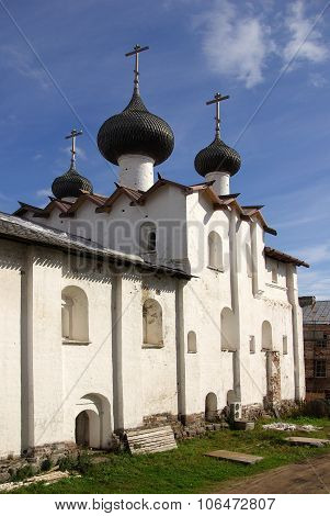Solovki, Republic Of Karelia, Russia - August, 2011: Solovki Monastery At Summer Day