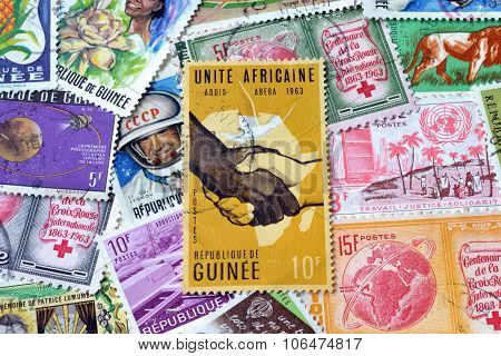 Guinea on stamps