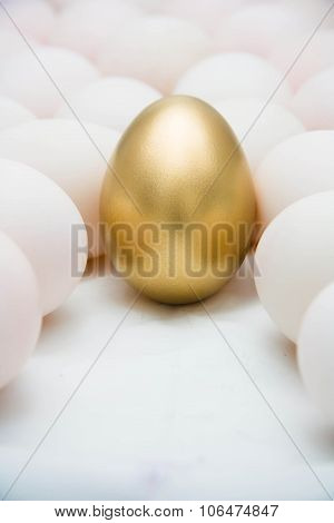 Golden Eggs With Duck Eggs