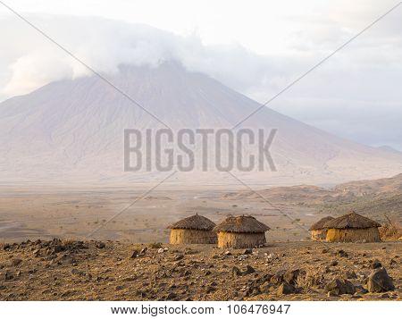 Maasai Village In Arusha
