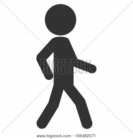 Walking Child Icon
