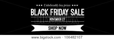 Black friday sale deals web banner