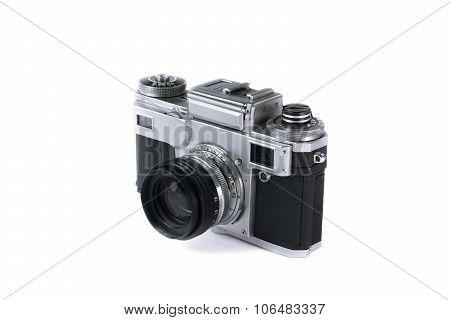 Old Film Photo Camera