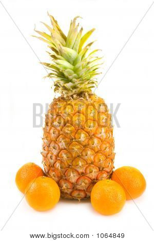 Mandarins And Pineapple