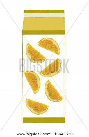 carton of fresh orange juice