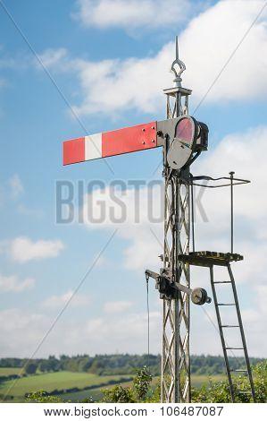 Vintage Semaphore Signal