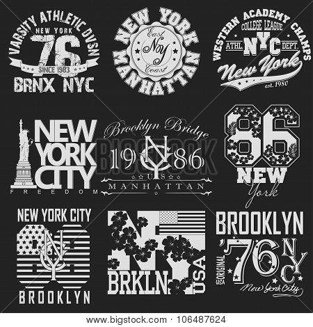 New York t-shirt set