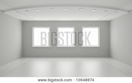 Clean Interior, New White Room