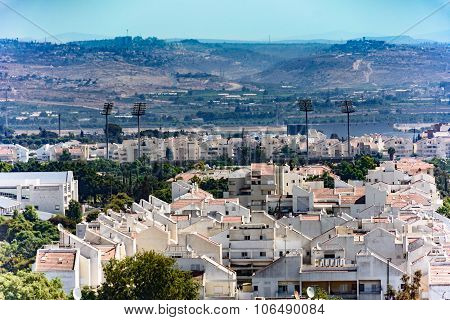 Bird's Eye View Of The Shomron Mountains