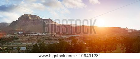 Sunrise Over El Teide National Park