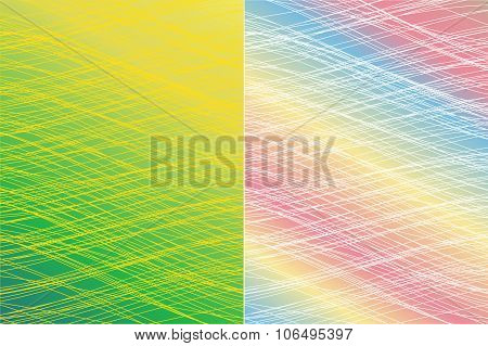 Abstract Backdrop Consisting Of Lines Similar Thread.vector