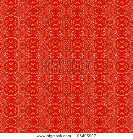 Seamless pattern red yellow