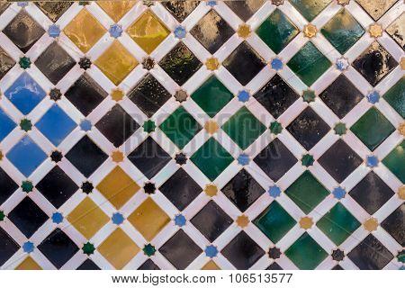 Pattern Of Antique Arabic Tiles