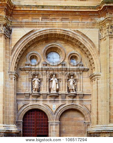 The way of Saint James by Santo Domingo de la Calzada La Rioja
