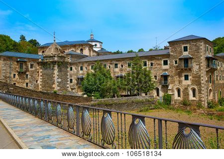 Samos monastery by the way of Saint James in Galicia Lugo