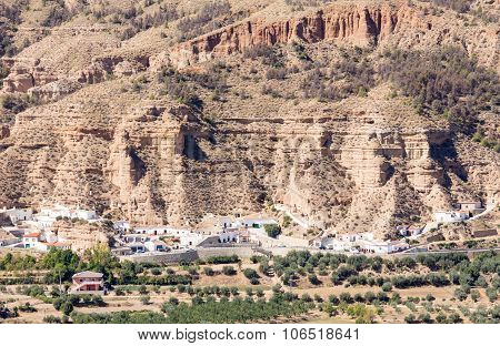 Unusual Cave-houses In Los Banos Near Guadix, Spain