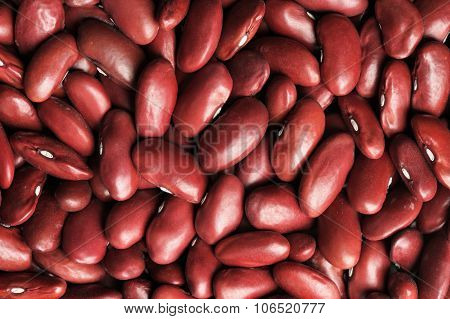 Whole Raw Red Kidney Beans Pattern