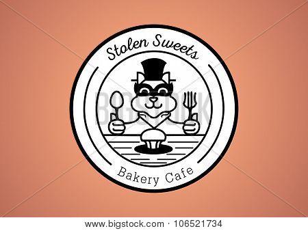 Thief Cat Bakery Logo