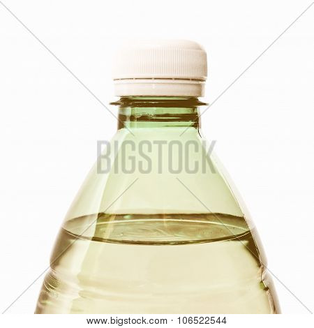 Retro Looking Bottle Of Water