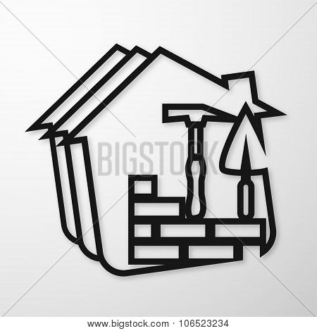 Building symbol for business