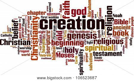 Creation Word Cloud