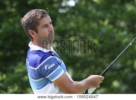 Robert Rock (eng) At  The Golf French Open 2015