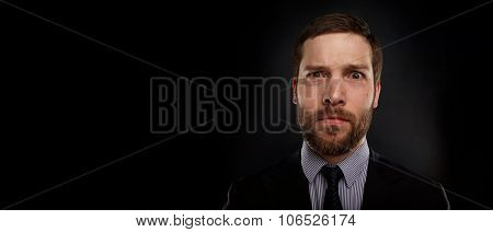 Closeup Portrait Of Handsome Businessman Looking Shocked, Surprised In Disbelief, With Hands On Face
