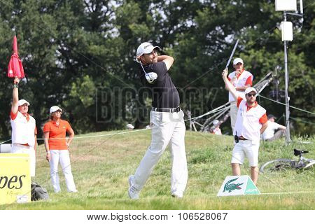 Jason Barnes (eng) At  The Golf French Open 2015
