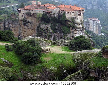 Photo of a Holy Trinity Monastery.