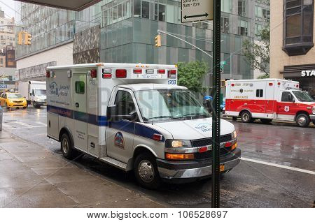 Ems Emergency Vehicle Ambulance