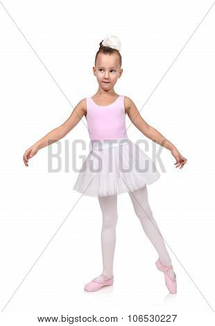 Girl Dances Ballet