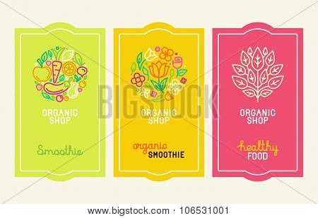 Vector Set Of Design Elements, Icons And Hand-lettering