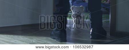 Child Molester In Girl's Room