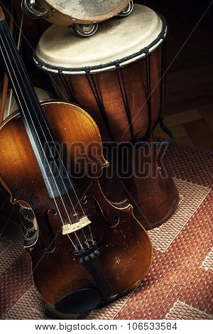 Folk Music Acoustic Instruments