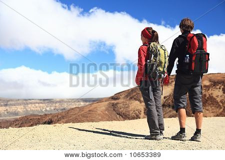 Couple Hikers