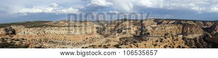 Panoramic Of San Rafael Swell Valley