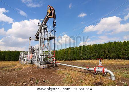 Conector de la bomba de aceite