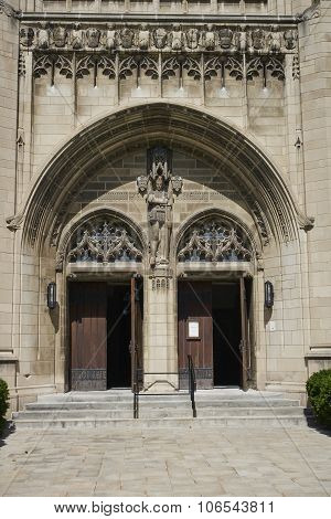 Front Entrance of Church