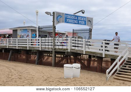 Fishing Pier at Virginia Beach