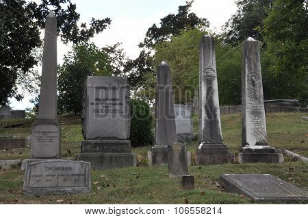 Hollywood Cemetery in Richmond, Virginia
