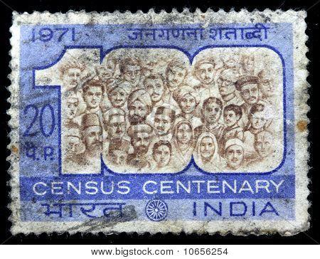 Census Centenary stamp