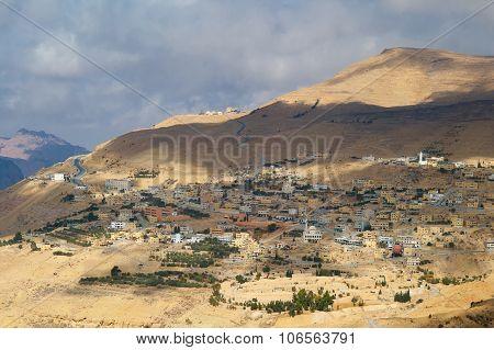 Mountain Village, Hashemite Kingdom Of Jordan