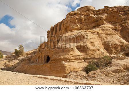 Landscape Is Near Petra, Jordan