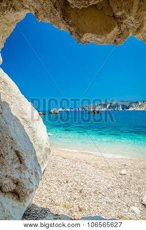 Agia Eleni Beach Kefalonia, Greece